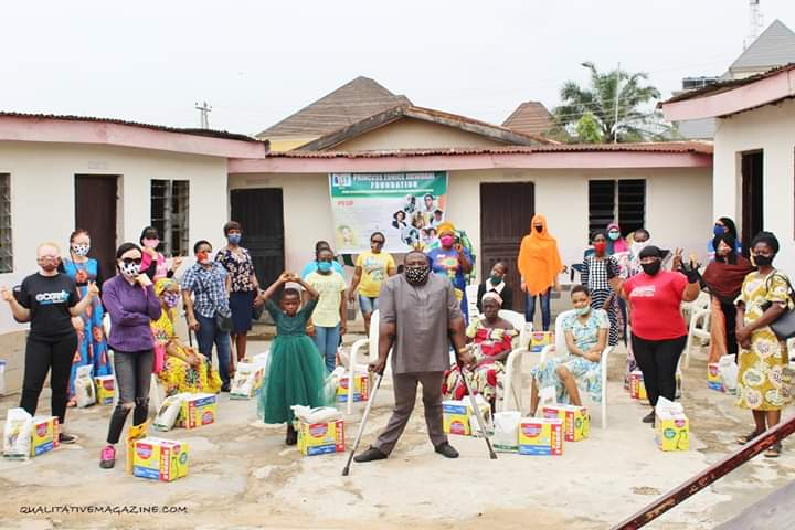 PEUF Collaborates with Lotus Initiative In Outreach to Disabled in Kuje Abuja